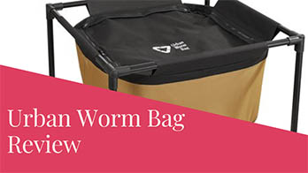 Urban Worm Bag Version 2 Review – Breathable Worm Composter