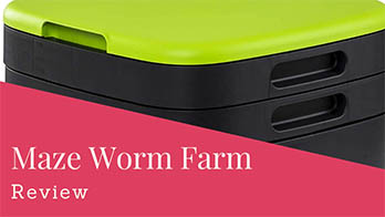Maze Worm Farm Review — Stylish Composting